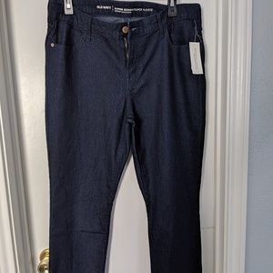 NWT Old Navy Super Skinny Mid-Rise Jeans, size 14